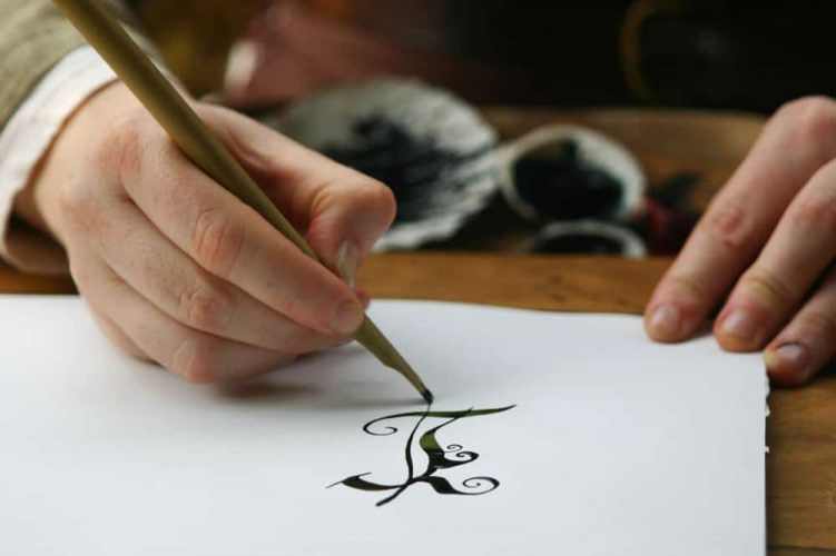 How Calligraphy Pens Work - mechanics -scribesandcrafts